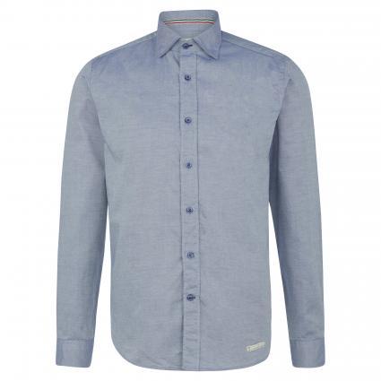 Slim-Fit Hemd mit Haifischkragen blau (69 Blue) | 44