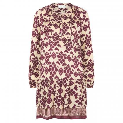 Kurzes Kleid 'Gisela' mit Muster-Mix rot (208 DATE) | XS