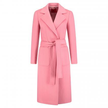 Wollmantel 'Runaway' mit Gürtel pink (1 PINK) | 42