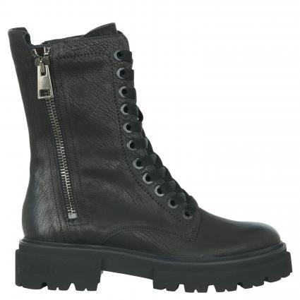 Boots 'Bobby' aus Leder schwarz (520 SCHWARZ) | 4