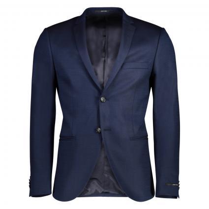Veste cintrée'Jil' avec poches plaquées bleu (2AX) | 102