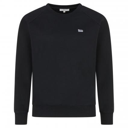 Sweatshirt mit Logo-Applikation schwarz (SWS BLACK)   XS
