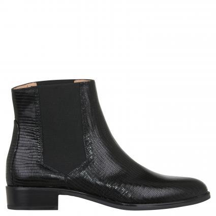 Chelsea Boots 'Belki' aus Leder schwarz (BLACK)   41