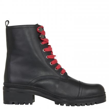 Stiefel 'Iba' aus Leder schwarz (BLACK) | 39