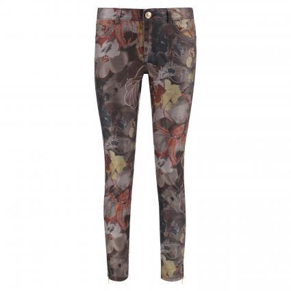 Jeans 'Victoria' mit Musterung camel (652 Burro Camel Prin) | 29