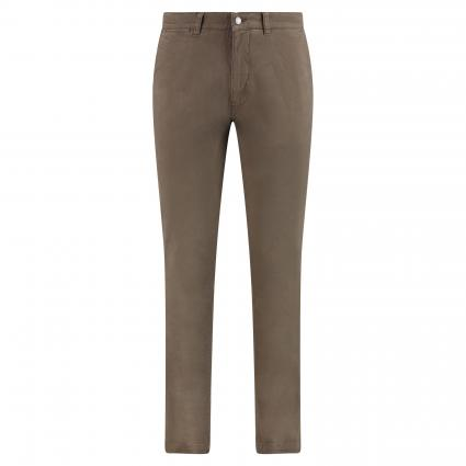 Slim-Fit Chinohose 'Marco' taupe (160) | 31