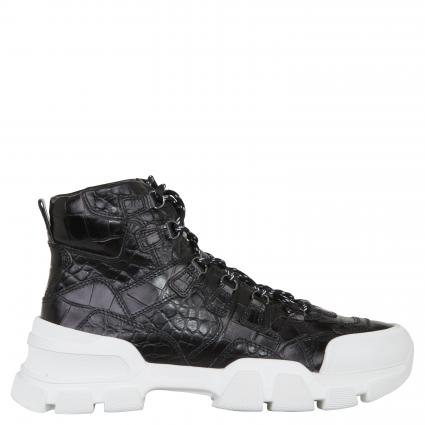 Sneaker aus Leder schwarz (630 BLACK SO.WEISS) | 4