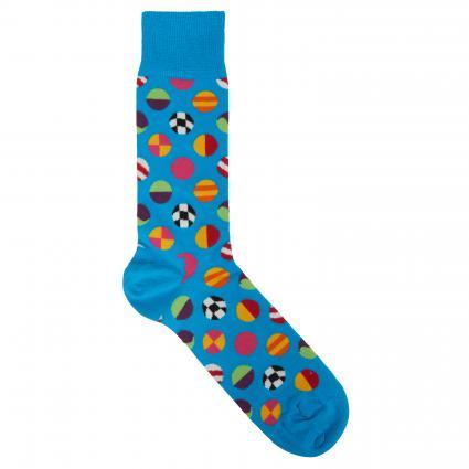 Chaussettes à motif turquoise (6700 clashing dot sock) | 41-46
