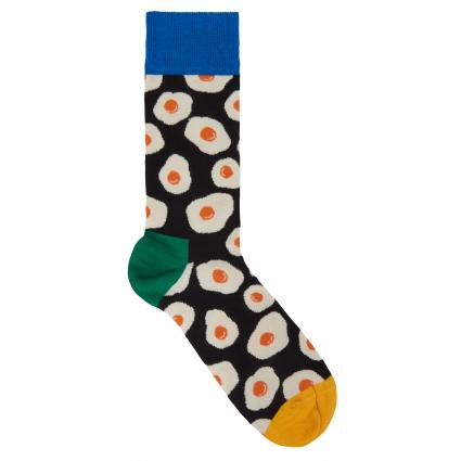 Socken mit All-Over Muster  divers (9300 sunny side up sock) | 41-46