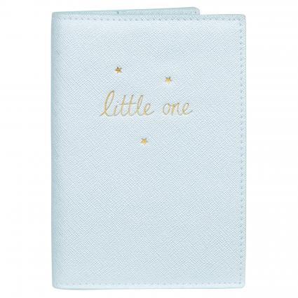 Hülle 'Little One' für Mutterpass blau (METALIC BLUE) | 0