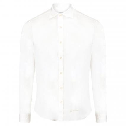 Slim-Fit Hemd aus Baumwolle weiss (UA1)   39
