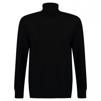 Pullover 'Cornelis' mit Rollkragen schwarz (black) | M