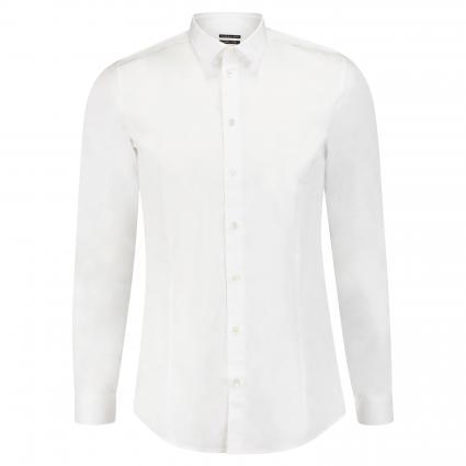 Slim-Fit Hemd mit Camouflage Muster weiss (W103 bianco ottico) | 46