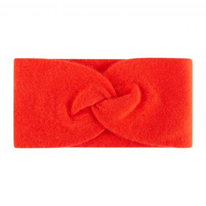 Stirnband aus Cashmere  orange (561 orange) | 0