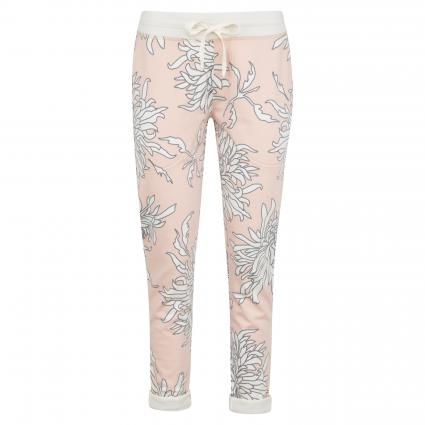 Sweatpants mit floraler Musterung rose (700 blush)   XXL