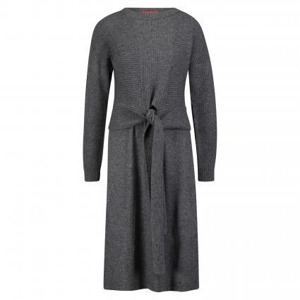 Strickkleid 'Dovranno' mit Pullover grau (002 DARK GREY) | L