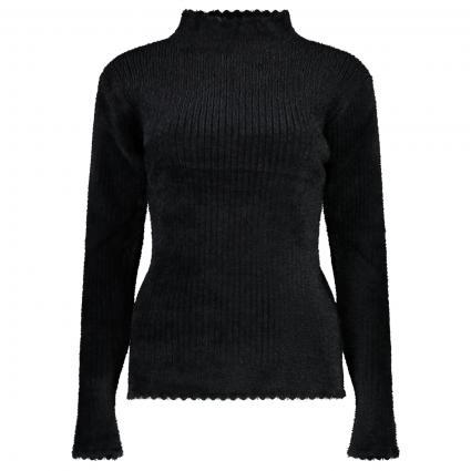 Pullover mit Stehkragen schwarz (BLACK) | M