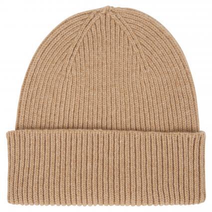 Mütze aus Merinowolle beige (desert khaki) | 0