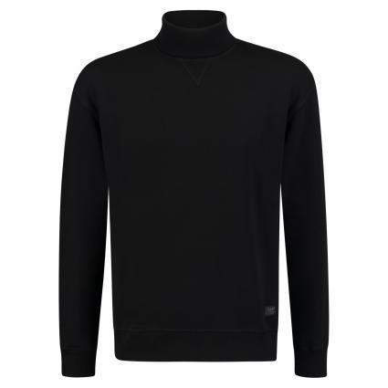 Sweatshirt mit Rollkragen schwarz (TJ01 black) | XL