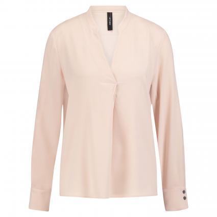 Bluse mit V-Ausschnitt beige (206 beige) | 44