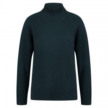 Pullover mit Stehkragen grün (1143 algae) | 40