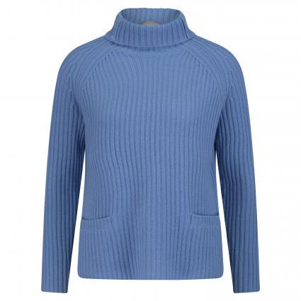 Rollkragenpullover aus Cashmere blau (blue) | XL