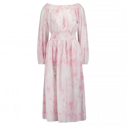Off-Shoulder Kleid im Batik-Look beige (0005 beige) | 38