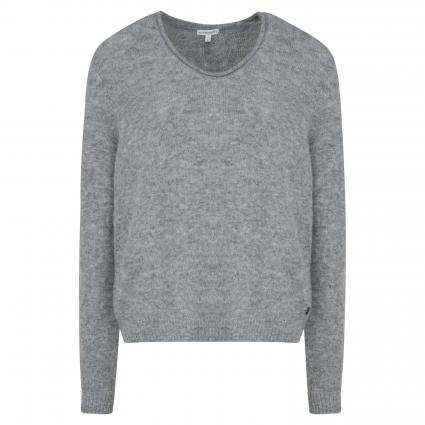 Pullover mit V-Ausschnitt grau (9920 grau)   XS