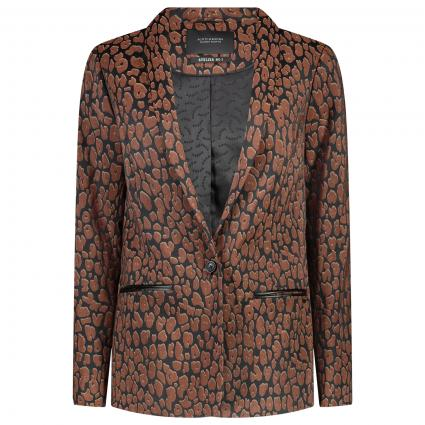 Blazer mit All-Over Muster divers (91) | XS
