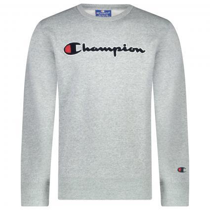 Sweatshirt mit Logo grau (NOXM EM021) | L