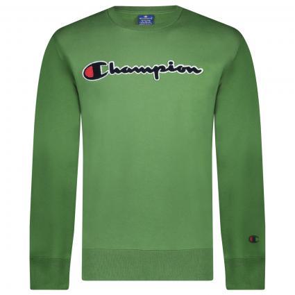 Sweatshirt mit Logo grün (WWB GS059) | L