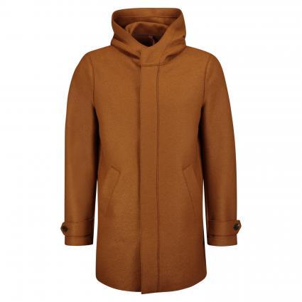 Jacke aus reiner Schurwolle cognac (442) | 48