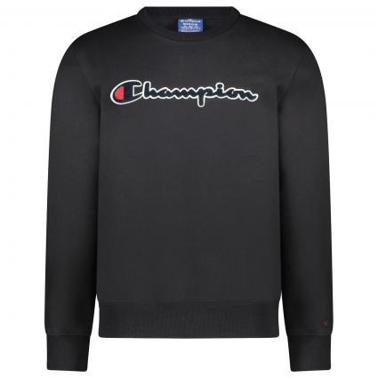 Sweatshirt mit Logo schwarz (NBK KK001 ) | M