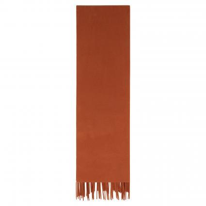 Schal 'Efin' aus Wolle orange (umber)   0