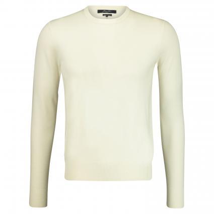 Pullover aus Merinowolle  ecru (0E1001 ecru)   L