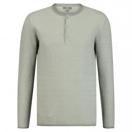 Pullover mit Knopfleiste grau (Fcd25032 silver) | XL