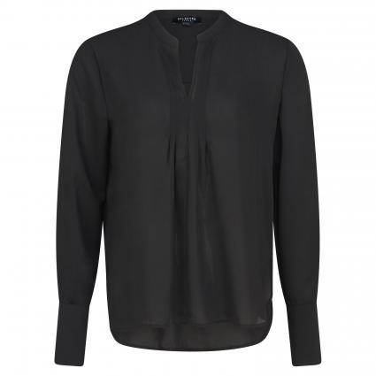 Fließende Bluse 'Gilly' schwarz (BLACK) | 36