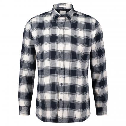 Hemd mit Musterung ecru (Egret CHK) | XXL