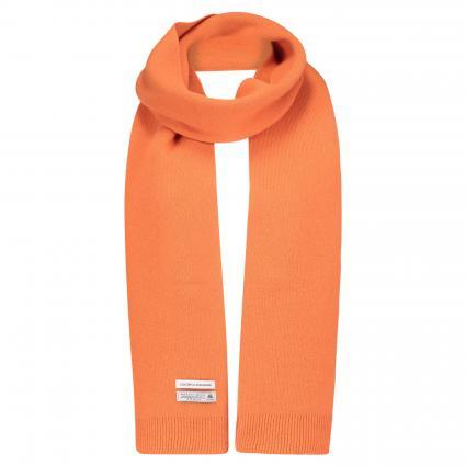 Schal aus Merinowolle orange (burned orange) | 0