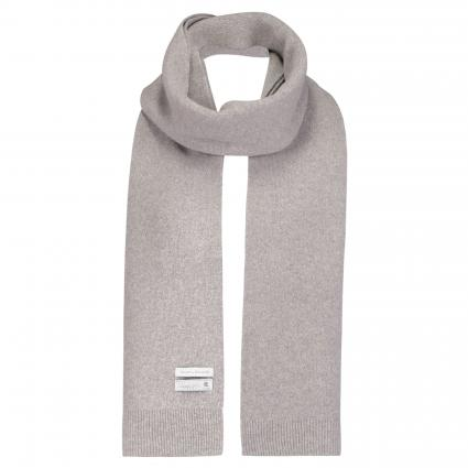 Schal aus Merinowolle grau (heather grey) | 0