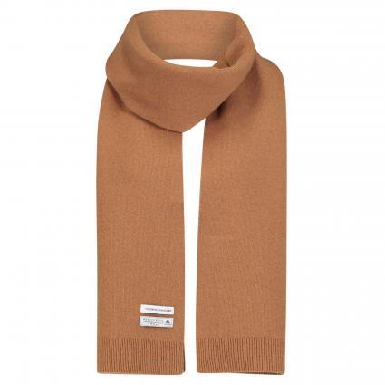 Schal aus Merinowolle beige (sahara camel) | 0