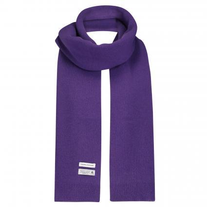Schal aus Merinowolle lila (ultra violet) | 0