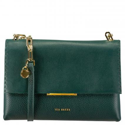 Crossbody Bag 'Diilila' aus Leder grün (DK-GREEN) | 0