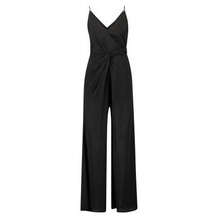 Jumpsuit 'Dance' mit Strukturmuster schwarz (BLACK) | M