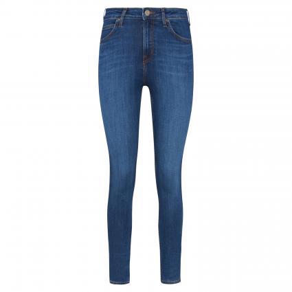 Super Skinny-Fit Highwaist Jeans 'Ivy' blau (DARK HUNT) | 25 | 31
