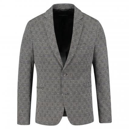 Sakko 'Hurley' mit Karomuster grau (6400 grey) | 54