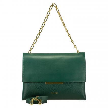 Tasche 'Diaana' aus Leder grün (DK-GREEN) | 0