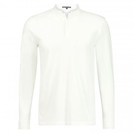 Poloshirt 'Keno' mit Stehkragen weiss (6000 white) | XL