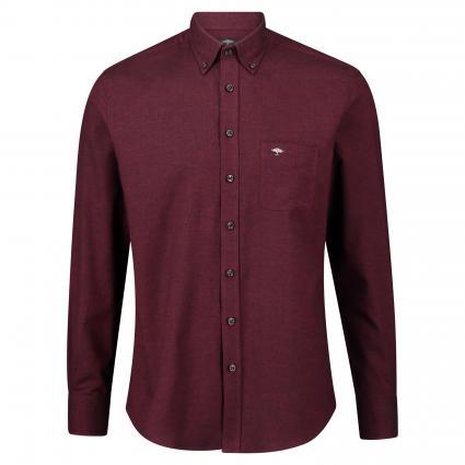 Button-Down Hemd mit Brusttasche bordeaux (6503 Bordeaux) | L