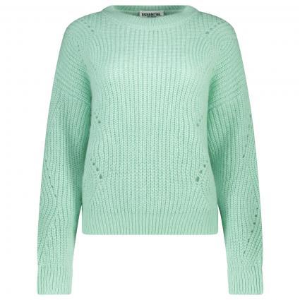 Pullover mit Rundhalsausschnitt  grün (Menthos Mint) | L